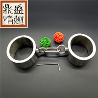 Sex toys for couples adult bdsm bondage erotic toys sex game slave handcuffs steel sex products bdsm sex tools for sale.