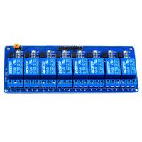 8 Channel Relay Module Control Panel 12V Low Level Trigger For Arduino PLC Free Shipping