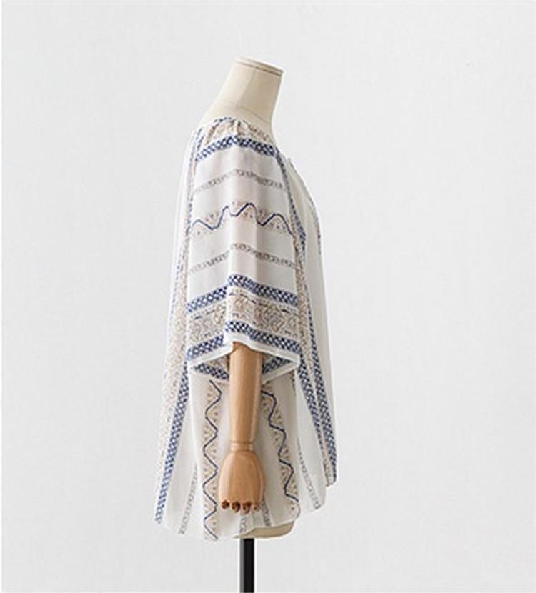 HTB1wElHLXXXXXaCaXXXq6xXFXXXa - Summer style Kimono blouses top Plus size XL-5XL Women shirts