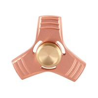 Brand Spring Toy Hand Spinner Red Copper Gyro Metal Tri Fidget Spinner Anti Stres Toys Gift
