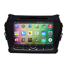 8″ Android 5.1.1 Quad Core Car Radio DVD GPS Navigation Central Multimedia for Hyundai IX45 Santa Fe 2013 2014 2015 3G WIFI DVR