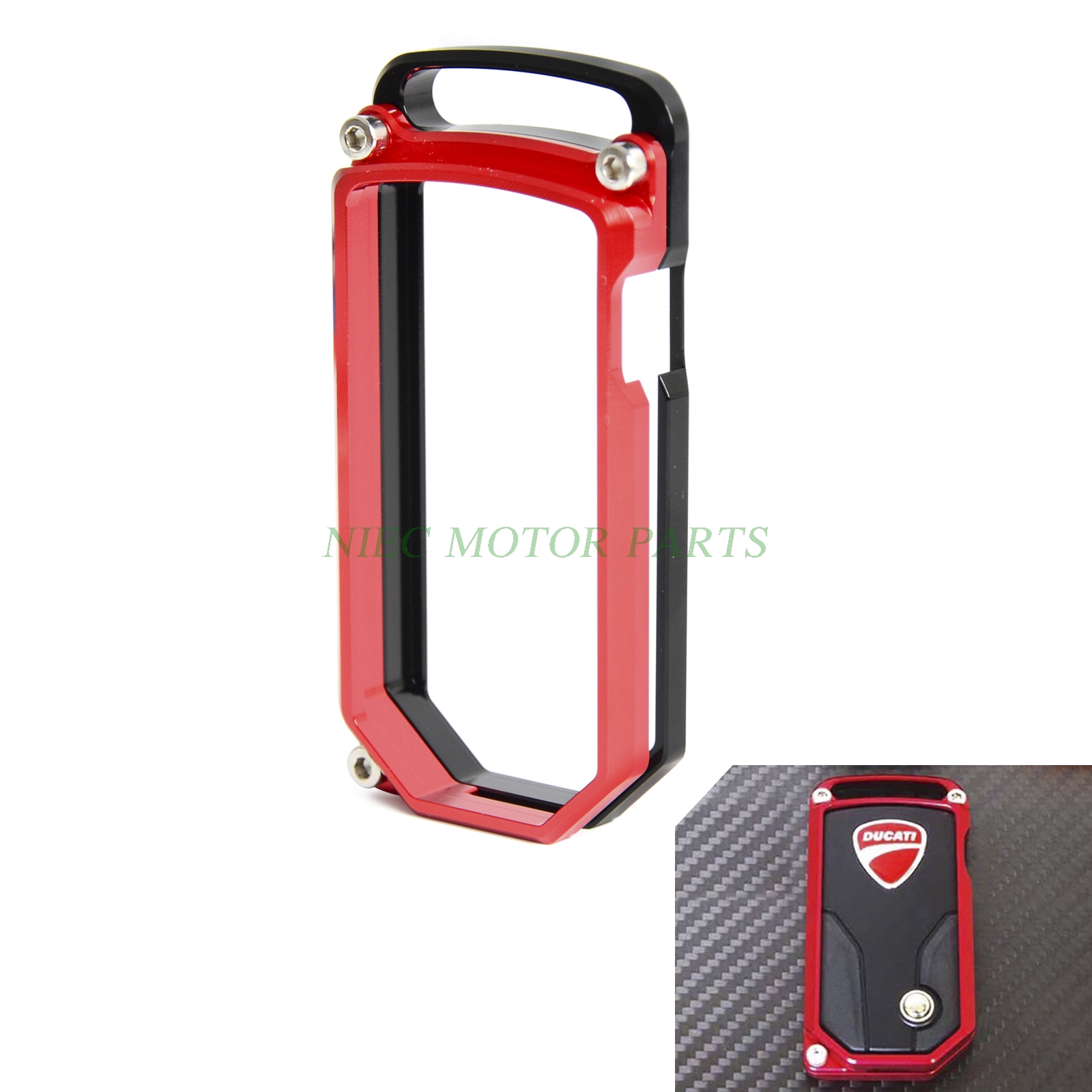 CNC Key Case SMART KEY COVER For Ducati Diavel 2011-2016 Multitrada 1200 Multitrada 1200 S 2010-2014