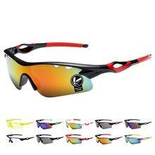 3411abeee8c5e5 Fietsen brillen UV400 zonnebril Mannen Outdoor Sport UV Bescherming voor  Mountain road Bike Fiets Vissen Bril