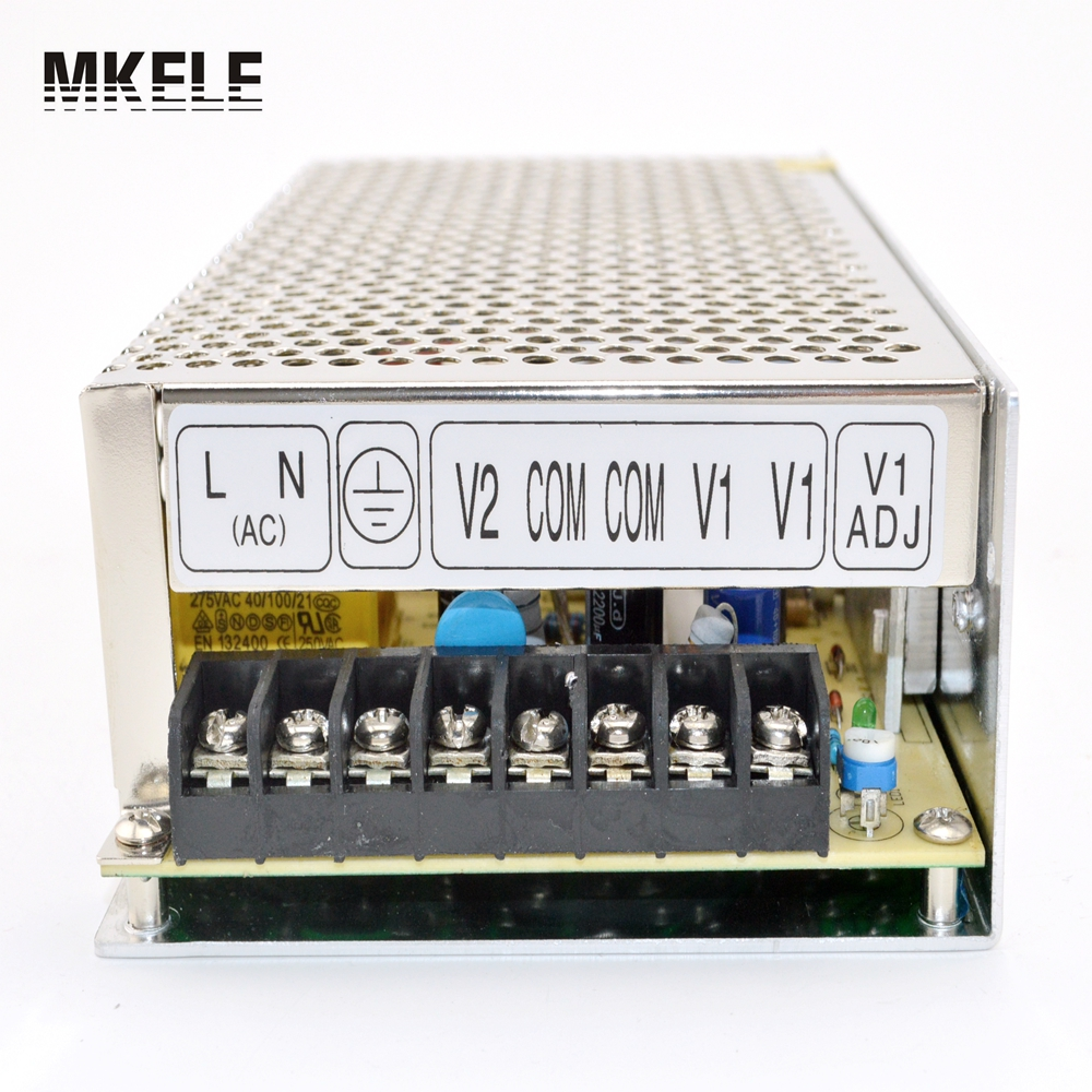 High Quality Dual Output Switching DC Power source Supply 120W AC 100-240V Input China