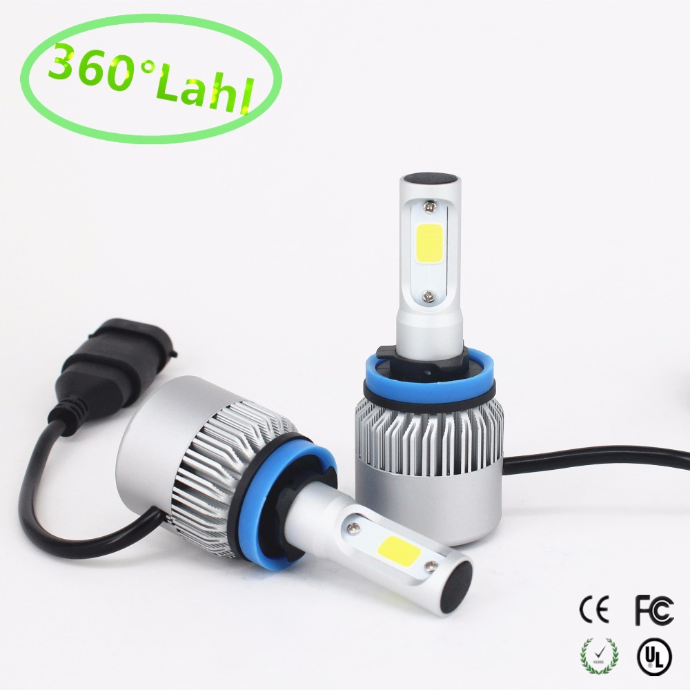 6 COB Led Headlights H1/H3/H4/H7/H11/H13/9005/9006 LED Car Headlight Bulb Hi-Lo Beam 72W 8000LM 6500K Auto Led Headlamp 12v 24v
