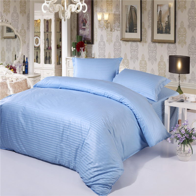 100% cotton 1pcs premium satin duvet cover with zipper to customize a variety of specifications