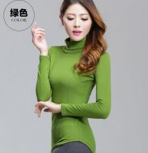 Women's Natural Color Fleece sweaters With Long Sleeves slim turtleneck pullover Autumn winter female pullover Slim sweaters