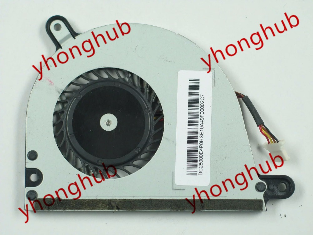 Free shipping Emacro UDQFLSR01DCM DC 5V 0.24A 4-wire 4-pin connector Bare Fan