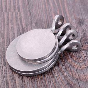 Image 5 - 6pcs Dia Shooting Target Stainless Steel 3cm/4cm Bullseye Hunting Catapult Airsoft Paintball Archery Bow Training Target
