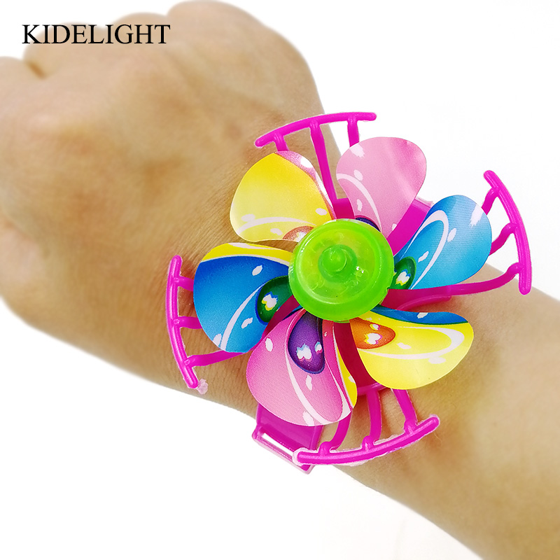 10PCS kids birthday party favors watch design windmill princess party supply baby shower gift christening favor