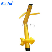 AD080 BENAO 4M inflatable air dancer with yellow arrow/ Inflatable Advertising Air Dancer/Sky Dancer for party