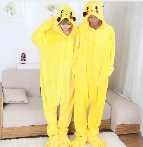 1acd8ee5 free pp Anime cospaly pokemon pikachu Adult pajamas Onesie fantasias mascot  pikachu costume halloween costumes for