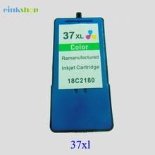 купить Color For Lexmark 37 Ink Cartridge for Lexmark 37 xl For lexmark X3650 X4650 X5650 X6650 X6675 Z2420 printer дешево