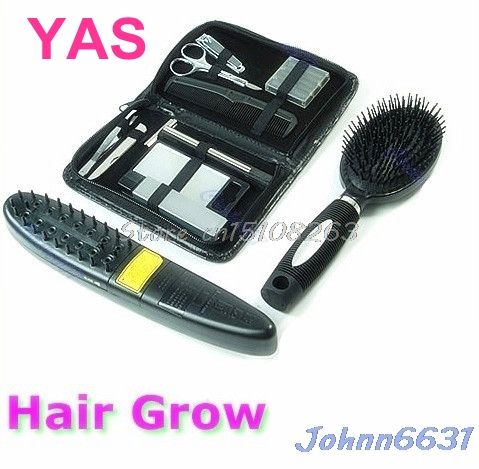 цена на New Laser Treatment Power Grow Comb Kit Stop Hair Loss Hot Regrow Therapy New #Y207E# Hot Sale