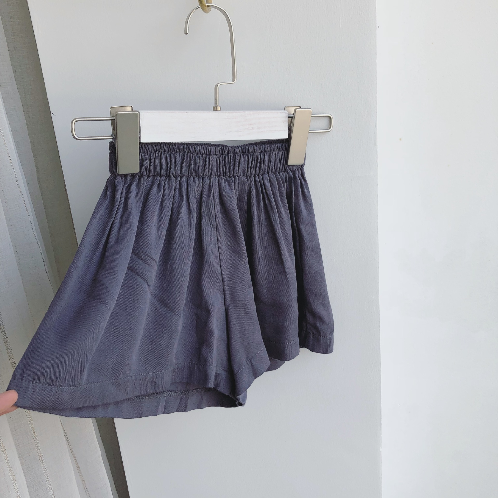 Zomer meisje wijde pijpen broek Kinderen broeken Kinderkleding Big - Kinderkleding - Foto 3