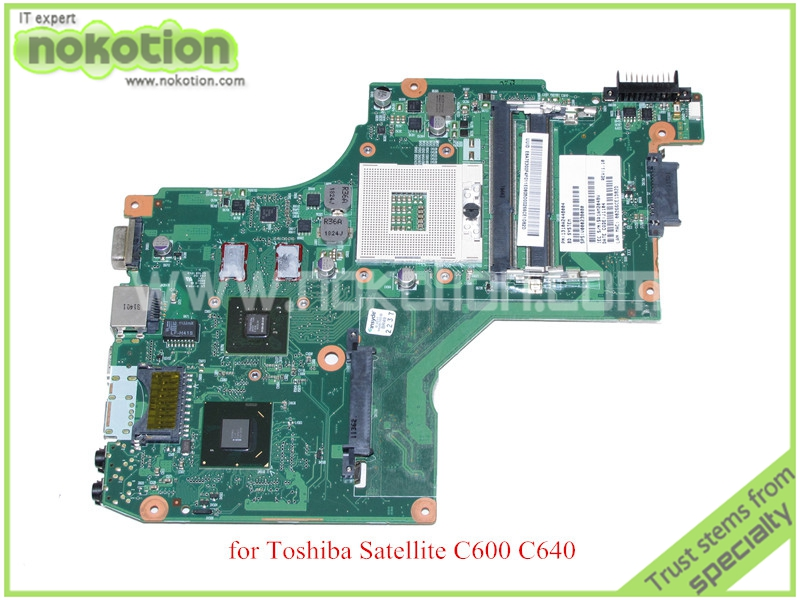 6050A2448001-MB-A02 CT10RG PN 1310A2448004 SPS V000238080 for toshiba satellite C600 C640 Motherboard HM65 GeForce GT315M