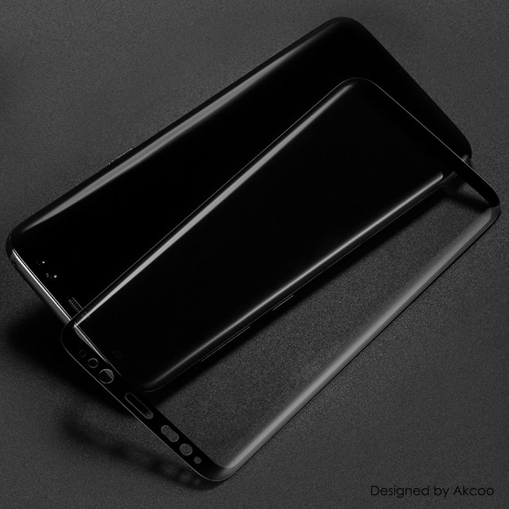 Akcoo New 3D Curved Full Cover Tempered Glass Screen Protector for - Ανταλλακτικά και αξεσουάρ κινητών τηλεφώνων - Φωτογραφία 4