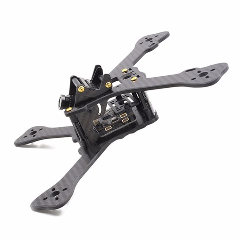 GEPRC GEP-RX5 Hawk 210mm Carbon Fiber Frame Kit w/ PDB/5V/12V BEC/Integrated XT60 geprc gep zx4 gep zx5 gep zx6 170mm 190mm 225mm 4 axis 3k carbon fiber frame kit with 12v 5v pdb board for rc multicopter