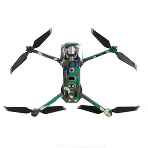 Image 2 - Renkli su geçirmez PVC çıkartmalar çıkartma kaplama yüzey koruma DJI MAVIC 2 Pro ZOOM Drone vücut/kol ve uzaktan kumanda aksesuarı