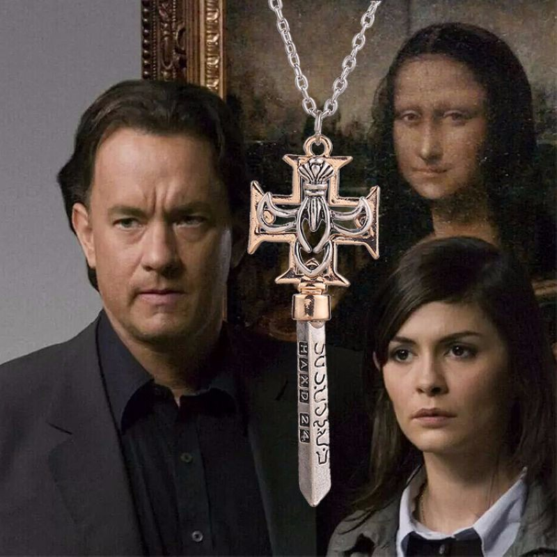 The Da Vinci Code Necklace The Key of the Bank Necklace