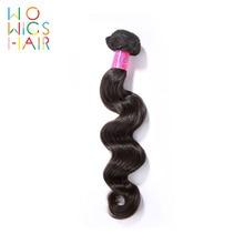 WoWigs Hair Loose Wave Peruvian Remy 100% Human Weaving 1/3/4 PCS Free Shipping Natural Color
