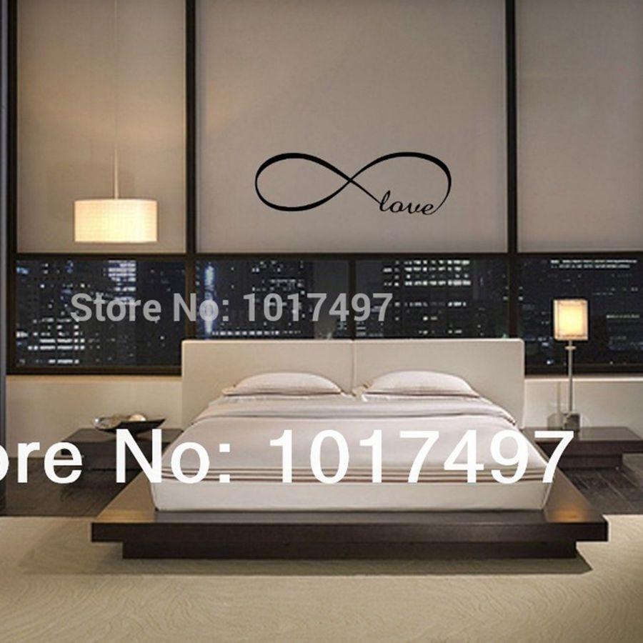 Love Bedroom Decor Aliexpresscom Buy Free Shipping Bedroom Wall Decals Love Wall