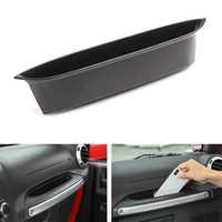 For Jeep Wrangler JK 2007-2017 Car Passenger Seat Door Handle Armrest Storage Box Holder Container