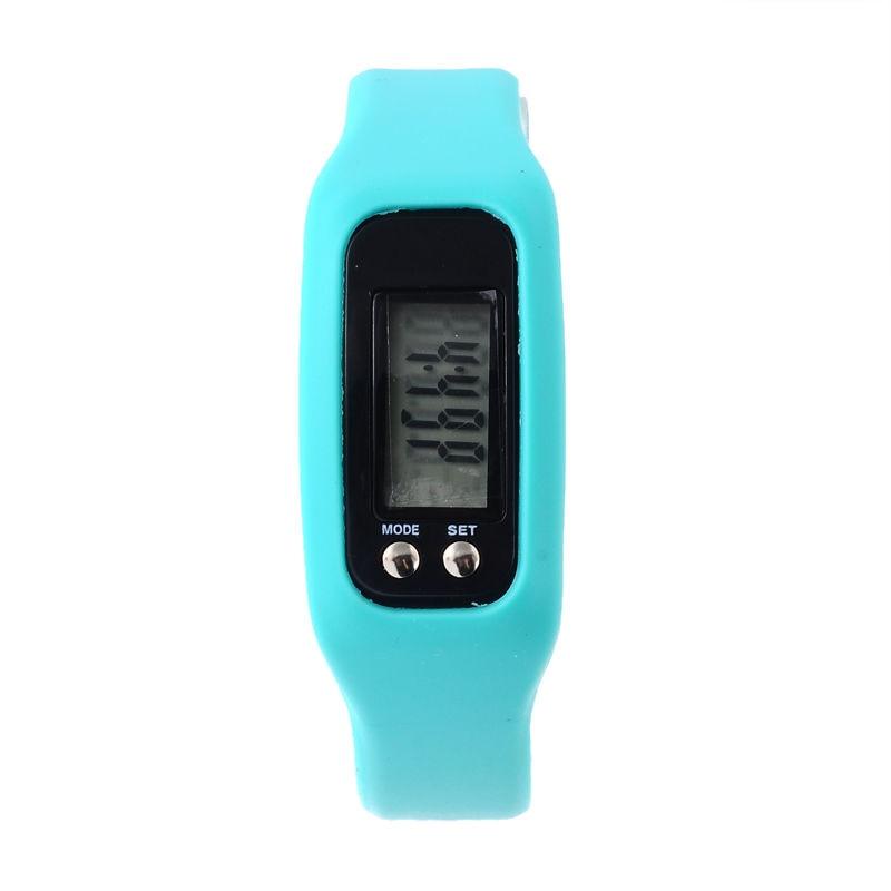 HX-Sports-Watch-Bracelet-Pedometer-Wrist-Step-Walking-Calorie-Counter-Tracker Colour:Lake Blue