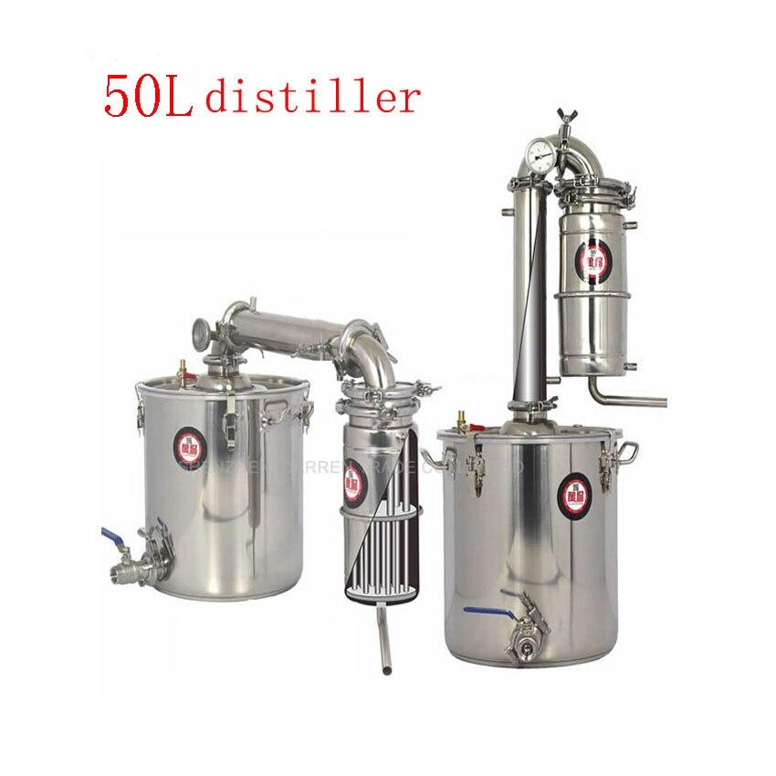 50L Distiller Bar Household facilities wine limbeck distilled water baijiu large capacity vodka maker brew alcohol whisky