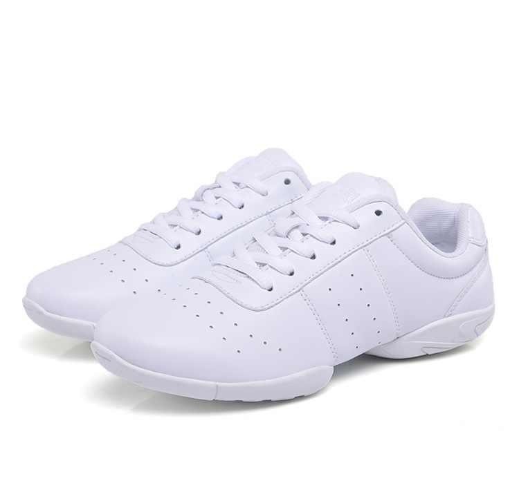 9f6c6fe5 ... Детские кроссовки детские соревновательные аэробика обувь мягкая  подошва Фитнес Спортивная обувь джаз/Современная квадратная танцевальная ...