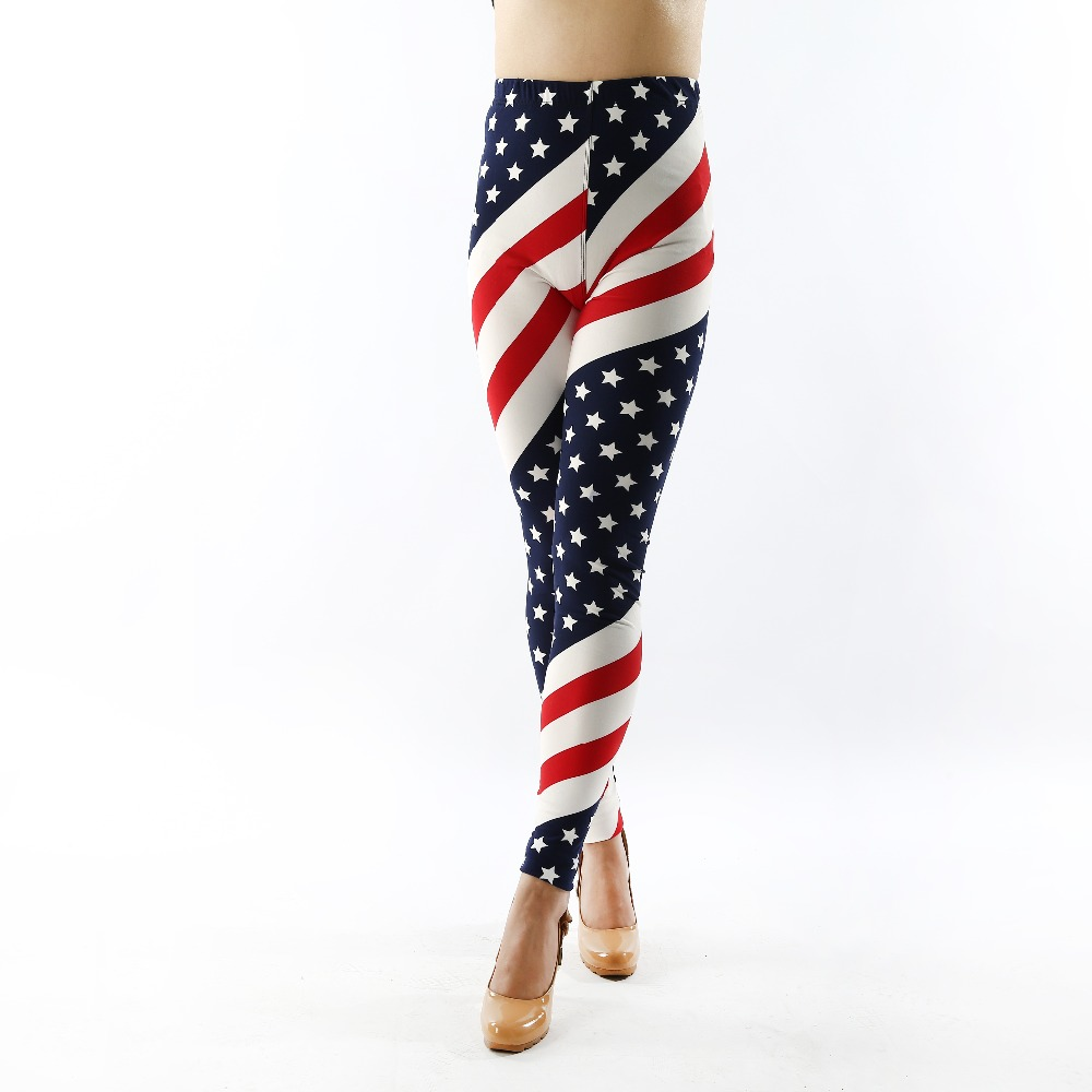 141 módní dámské spodní kalhoty vysoké elastické kalhoty capris pohodlné plus legíny americký styl populární tisk doprava zdarma xxxxxl