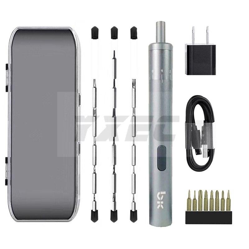 TBK BK008 Adjustable position electric charging screwdriver Mobile phone repair dismantling for iPhone ipad Samsung Repair