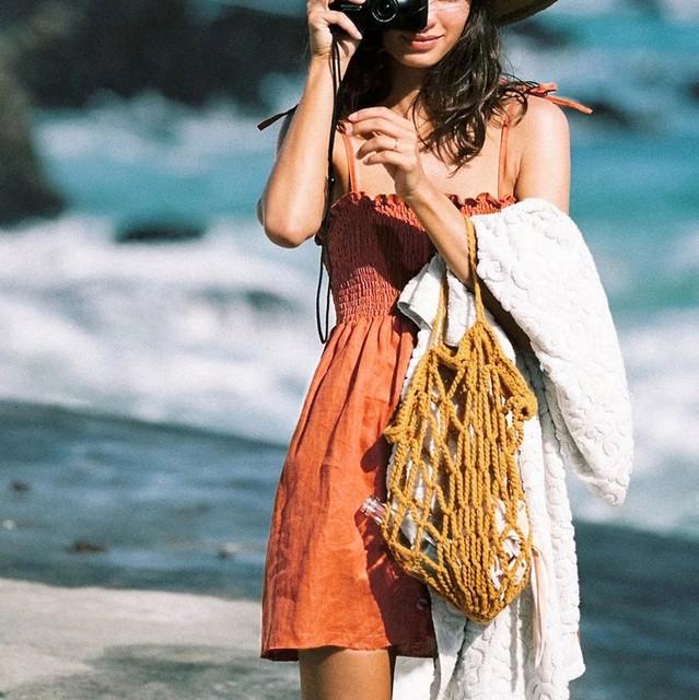 summer dress women Sexy Womens Fashion Ladies Solid Color Bind Buttons Casual Mini Beach Dress Mini Dress Hot Party Dress 2019