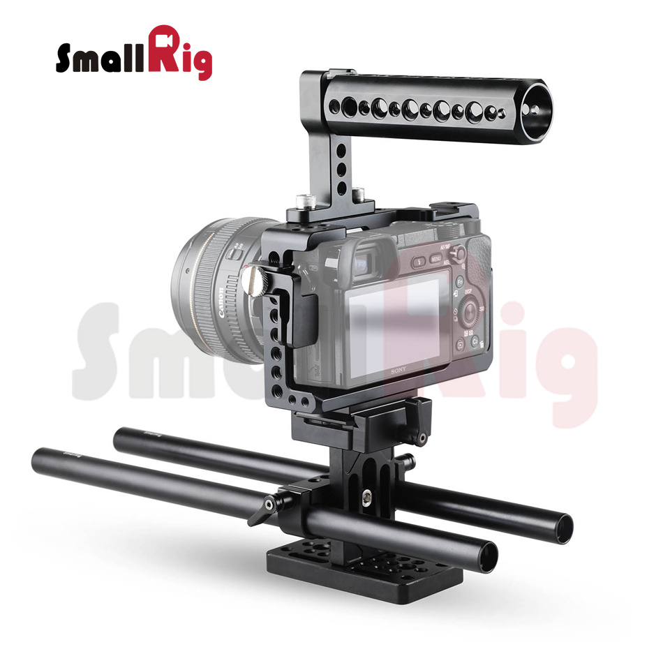 bilder für Smallrig super kamera unterstützung kit für sony a6300/a6000/a6500/ILCE-6000/ILCE-6300/ILCE-6500/NEX7 Zubehör Kit-1886