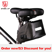 WHEEL UP Reflective Waterproof Tube MTB Mountain Road Bicycle Bag Cycling Saddle Frame Bag Seat Bag For Bike Cycling Accessories