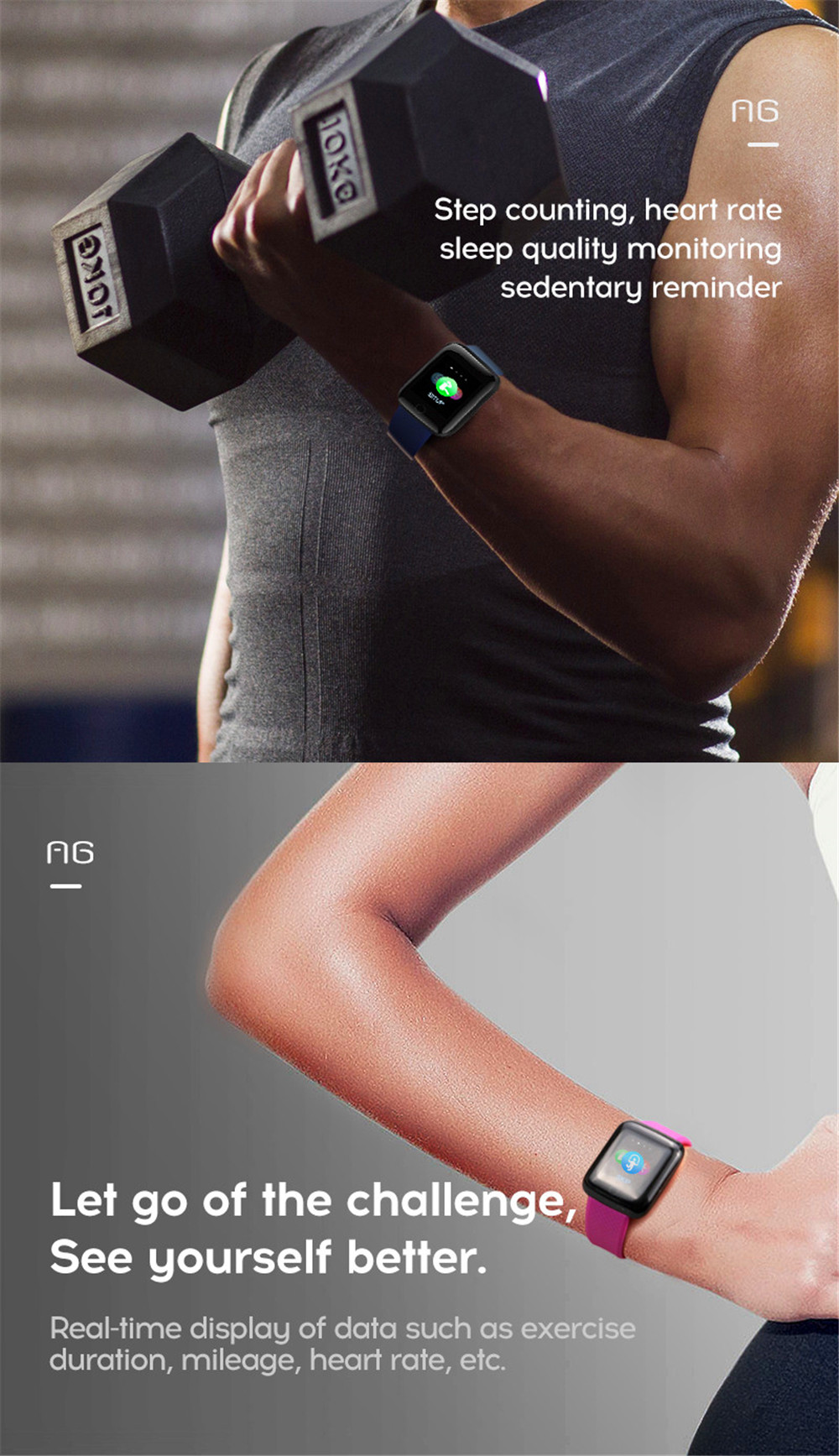 8-130435- Smart Watch Men Blood Pressure Waterproof Smartwatch Women Heart Rate Monitor Fitness Tracker Watch GPS Sport For Android IOS