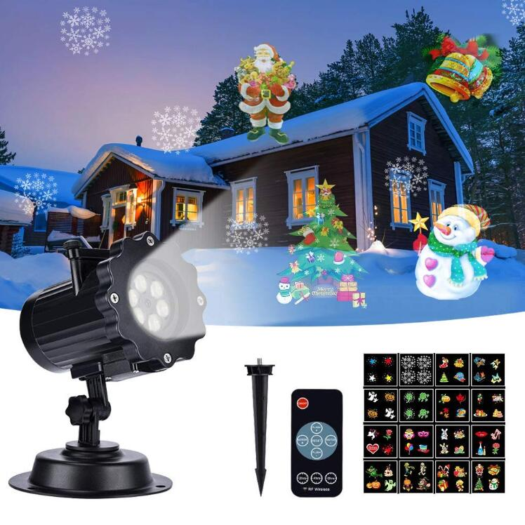IP65 Christmas Light Projector Mini Waterproof Projection Lamp for Xmas Birthday Wedding Party Festival Indoor Outdoor Lawn LampIP65 Christmas Light Projector Mini Waterproof Projection Lamp for Xmas Birthday Wedding Party Festival Indoor Outdoor Lawn Lamp