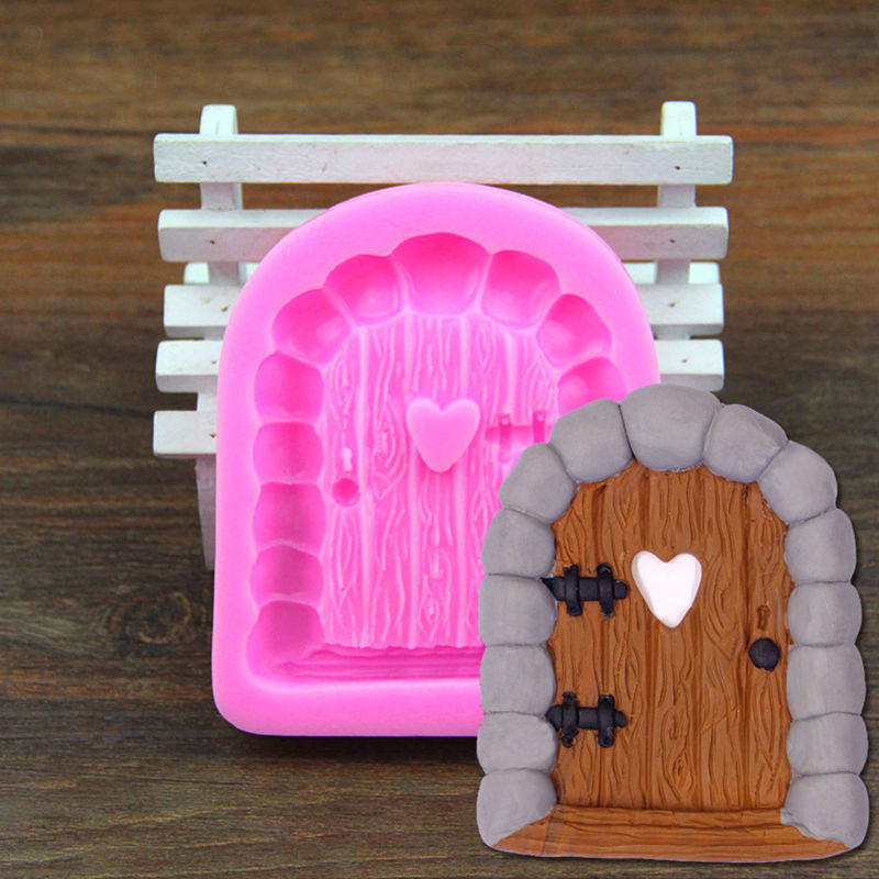 Prime 3D Fairy House Door Diy Cake Mould Silicone Fondant Mold Tools Paste Chocolate In Cake Molds From Home Garden On Aliexpress Com Alibaba Group Download Free Architecture Designs Scobabritishbridgeorg