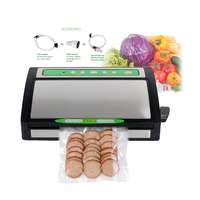 Vacuum Food Sealer With Packs For Vacuum Packer Electric Table Type 28cm Sealing Length Commercial Household Sous Vide Sealer