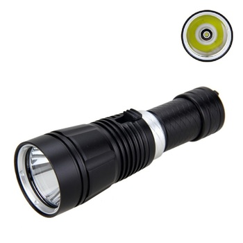 цена на 1000 LM XM-L T6 LED Diving Aluminum Flashlight Torch Underwater Can use 18650/26650 Battery