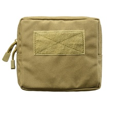 Outdoor 1000D Nylon Military Tactical Waist Bag Multifunctional EDC Molle Tool Zipper Pack Accessory Pouch