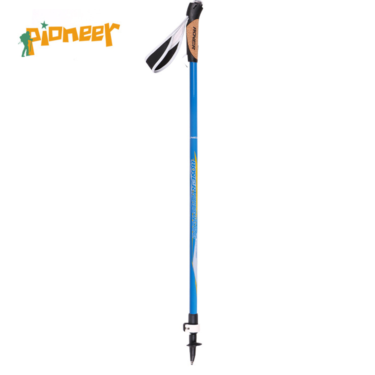 POINT BREAK [Pioneer Pioneer - Nordic walking stick] Cross-country Hiking Trail Walking Stick Ultra Light Carbon