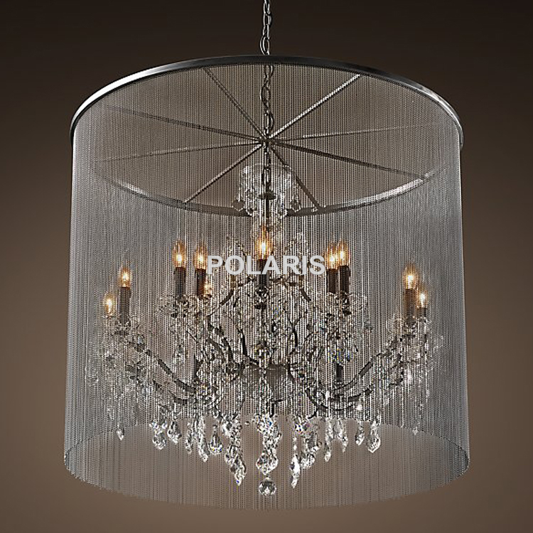 Vintage crystal chandelier picture more detailed picture for Chandelier mural antique