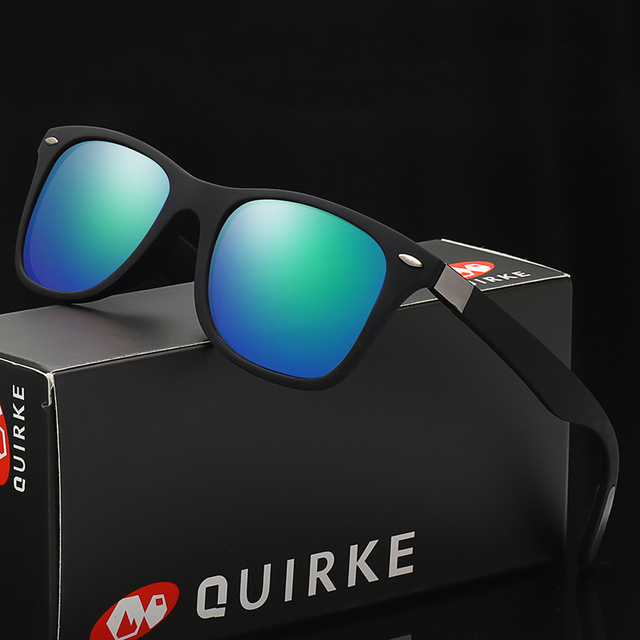 Квирк Новые мужские и женские Солнцезащитные очки женские модные солнцезащитные очки драйвера вождения очки.
