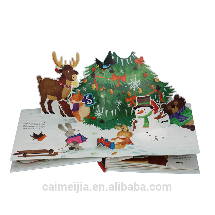 Hot Fancy Pop-Up Book Printing For Children