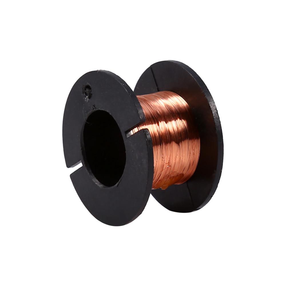 5pcs/Lot 0.1mm Enameled Wire Copper Winding Wire Enamelled Repair ...
