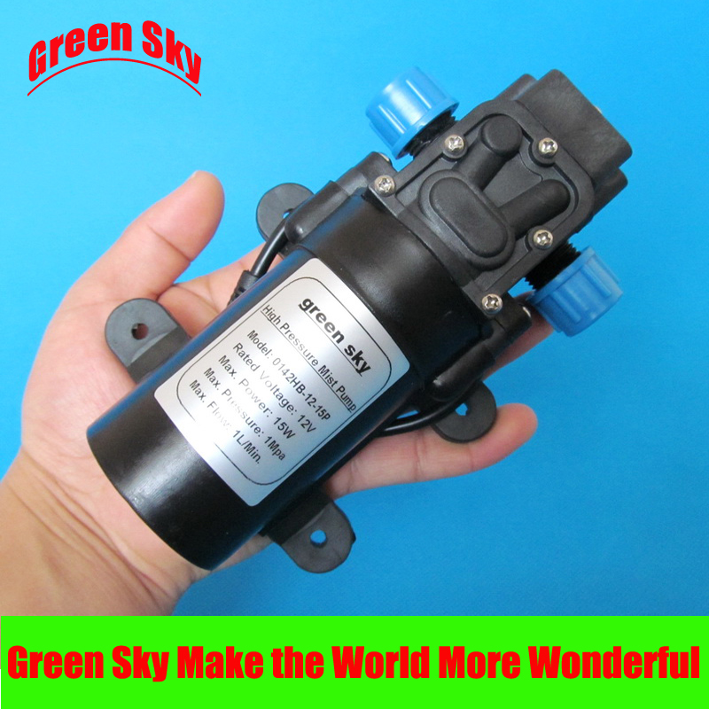 145PSI  DC 12V 15W fog spray maker water pump mist145PSI  DC 12V 15W fog spray maker water pump mist