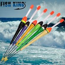 FISH KING 10PCS/Lot 1g-20g Multi Barguzinsky Fir Ocean Boat Fishing Light Stick Float Boia Flotteur Peche De Pesca Vissen Tackle