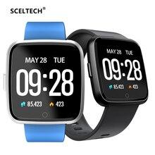 Купить с кэшбэком SCELTECH Y7 Smart watch Bracelet Blood Pressure Oxygen Sport Tracker Waterproof Heart Rate Monitor Wristband For Men Women