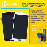 Tested LCD For Samsung Galaxy S4 Gt I9500 I9505 I9515 747 LCD Display Touch Screen Digitizer